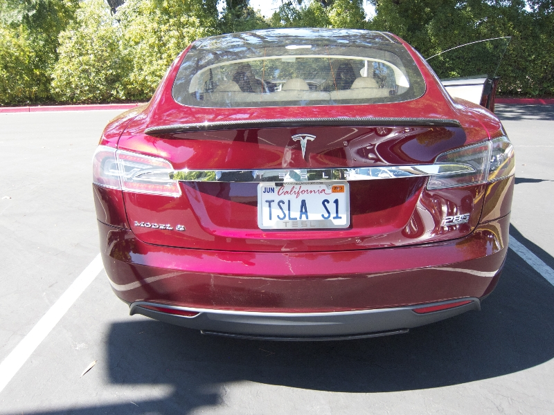 The First Model S