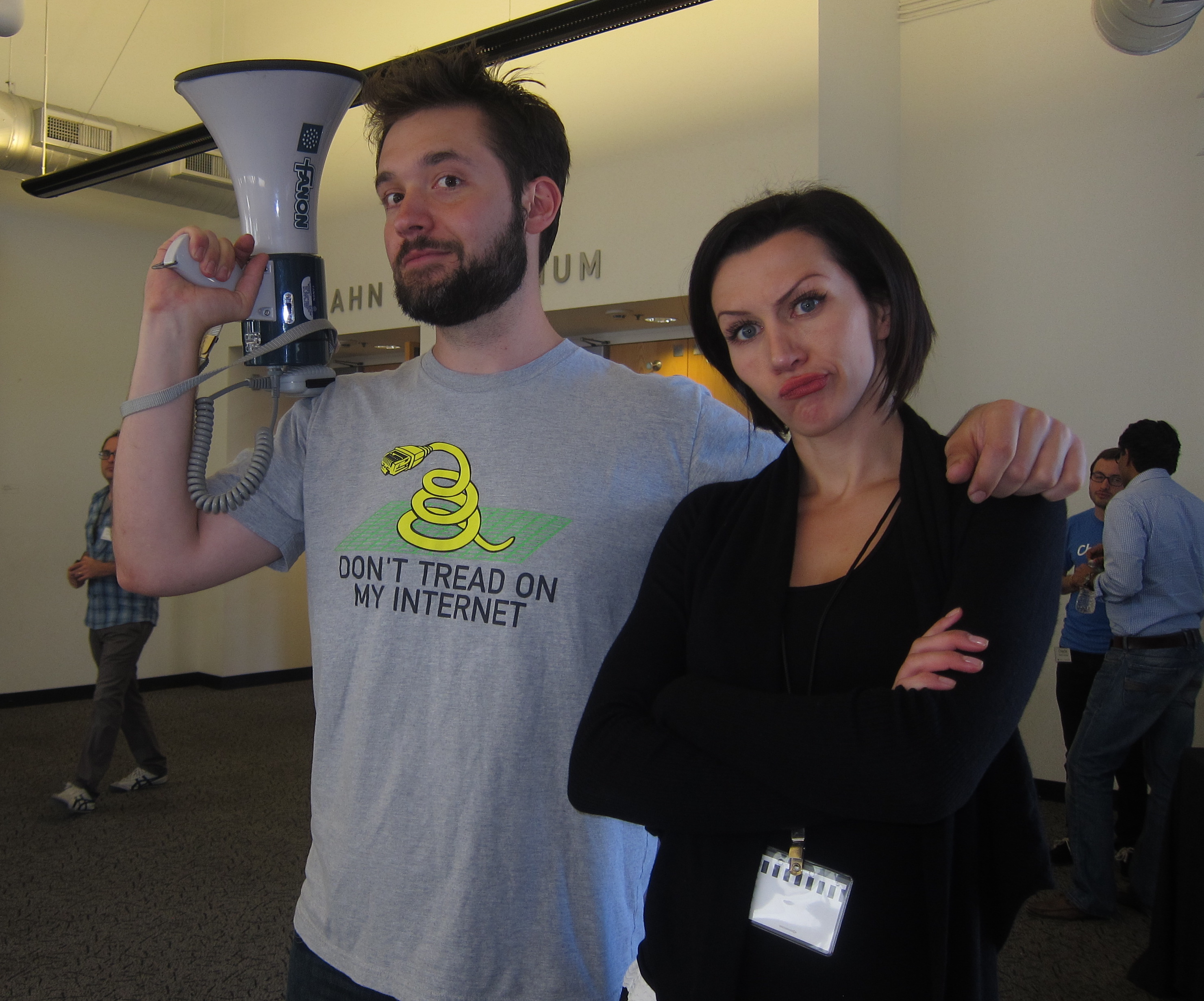 Alexis Ohanian (of Reddit fame) & Irina Lukashuk call time at Y Combinator.