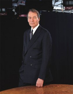 Charlie Rose talks about his great and glorious life