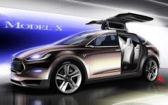 Tesla's Model X: Made in California