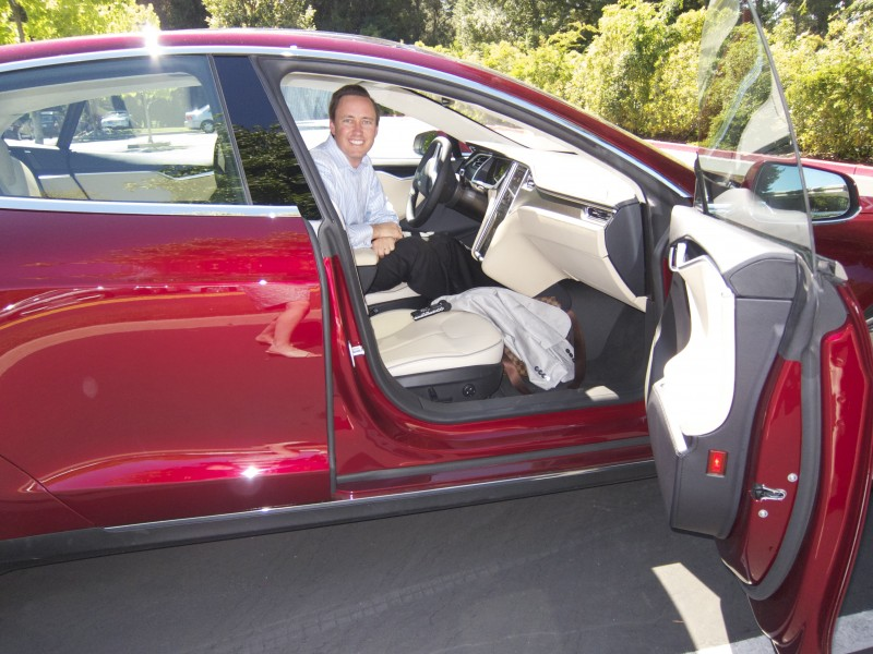 Meet The First Tesla Model S and Owner, Steve Jurvetson