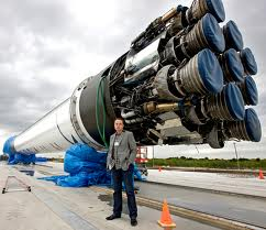 SpaceX's Falcon 9 launcher that carried Dragon to orbit, 2012. Fresh Dialogues interview