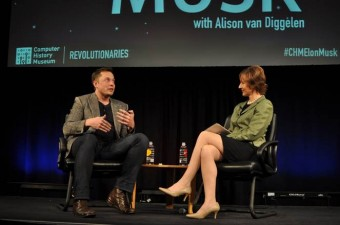 Elon Musk in conversation with Alison van Diggelen of Fresh Dialogues