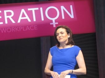 Sheryl Sandberg in San Francisco, Photo by Fresh Dialogues