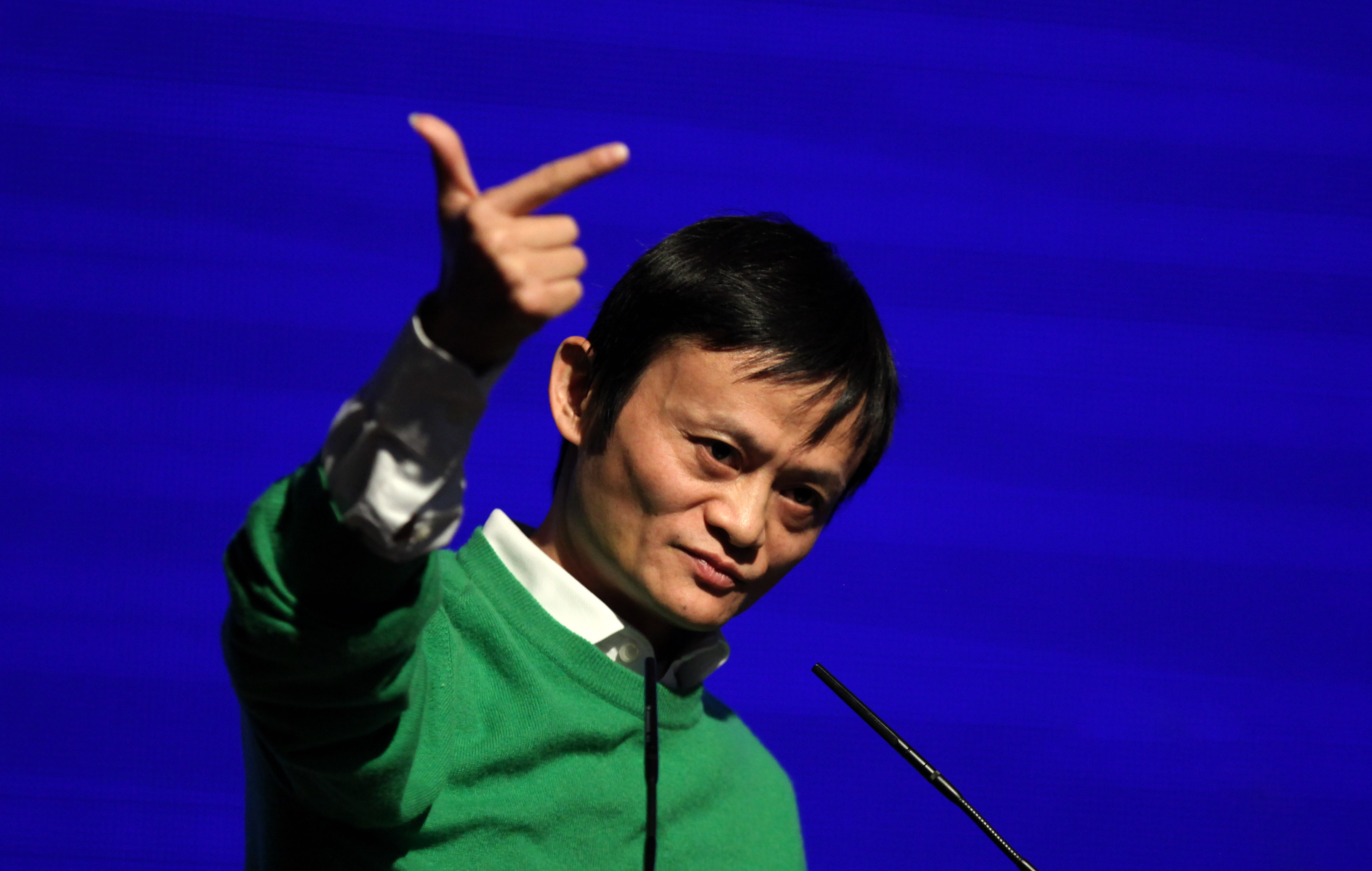 BBC Conversation: Alibaba's Jack Ma has a green mission