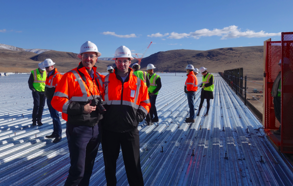 Steve Jurvetson and JB Straubel visit the Tesla Gigafactory