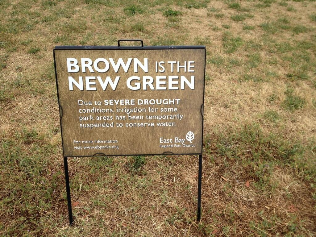 Brown is the new Green in California