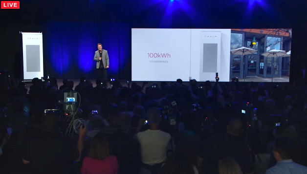 Elon Musk reveals Tesla Energy April 30 2015, Fresh Dialogues photo
