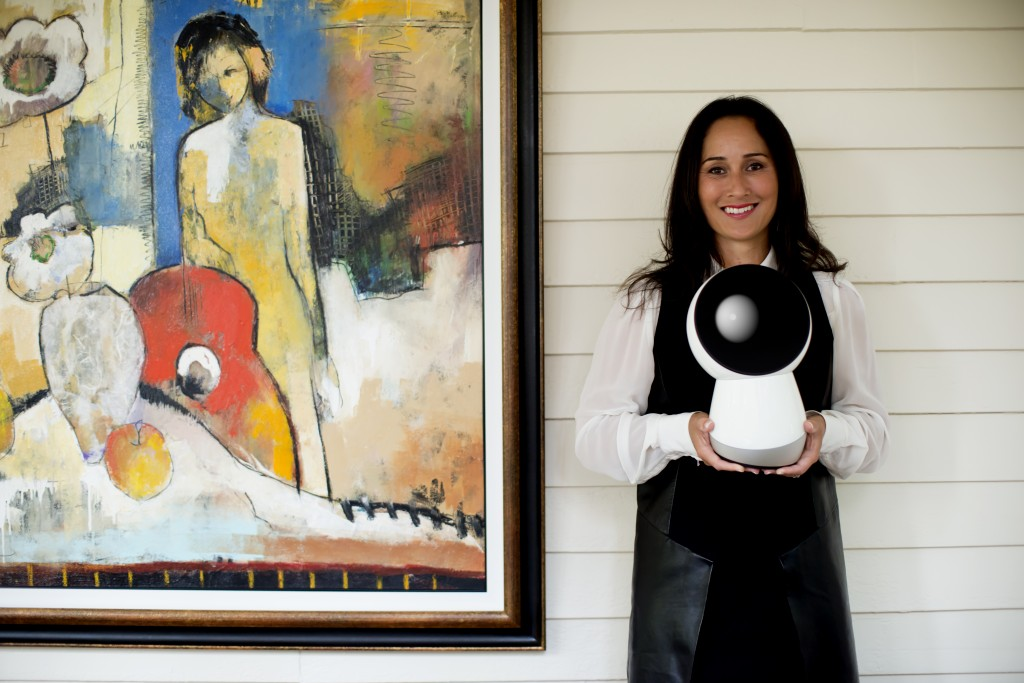 Cynthia Breazeal with Jibo