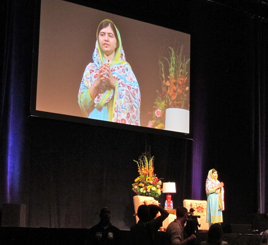 Malala in prayer asks for support