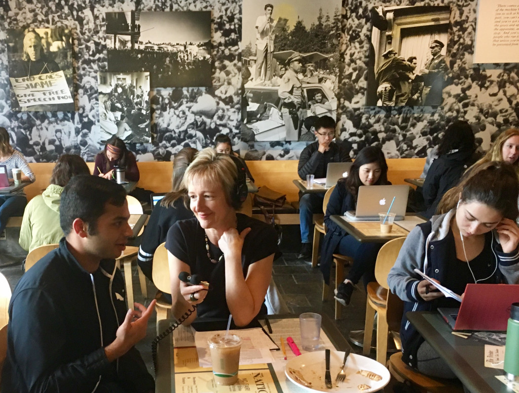 Ash Bhat interview at Berkeley Free Speech Cafe, by Alison van Diggelen