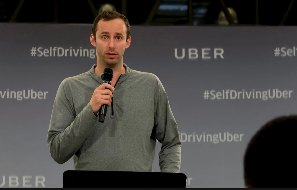 Uber's Anthony Levandowski, is accused of stealing Lidar secrets from Google's Waymo, Photo credit: Quartz/Mike Murphy