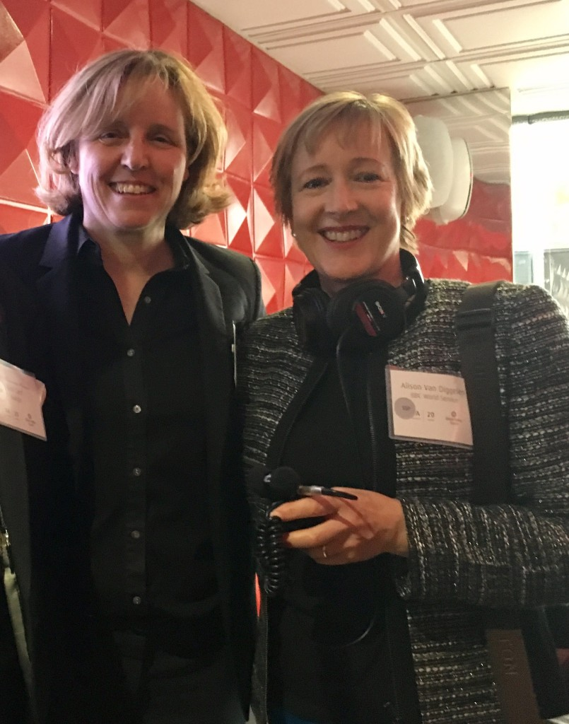 Megan Smith with Alison van Diggelen Visionaries 2017