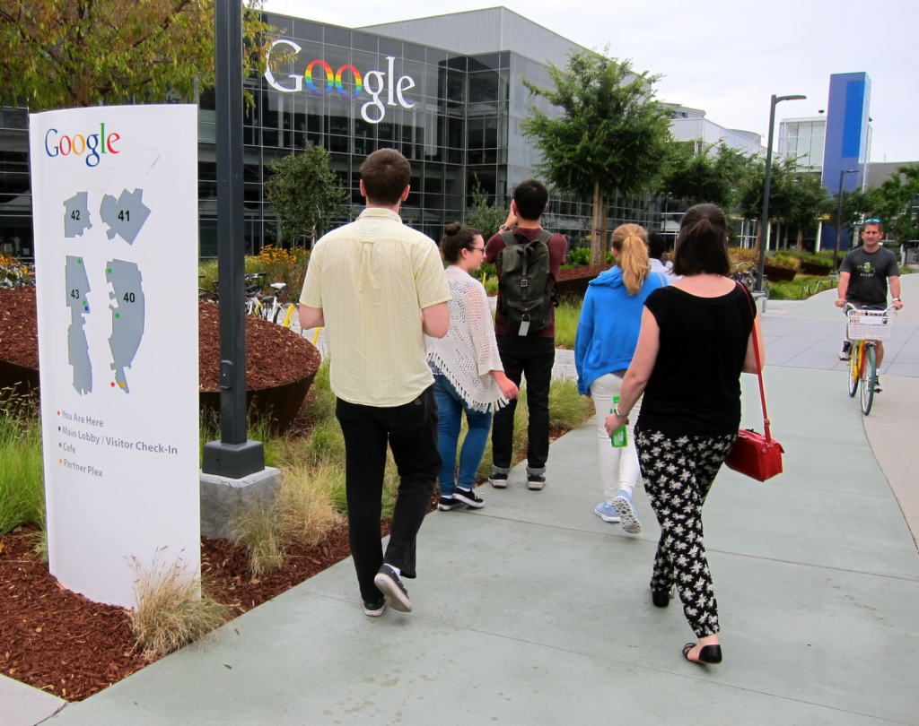 Google Campus Mountain View: by Alison van Diggelen, Fresh Dialogues