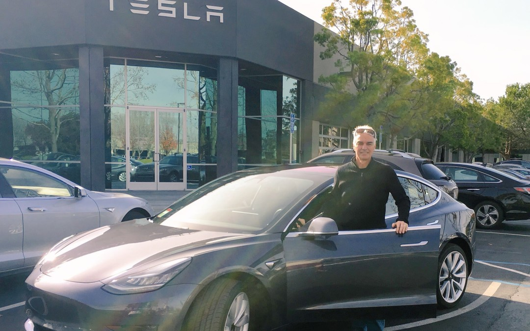 Tesla Model 3 Deliveries Begin in Silicon Valley – first photos and video