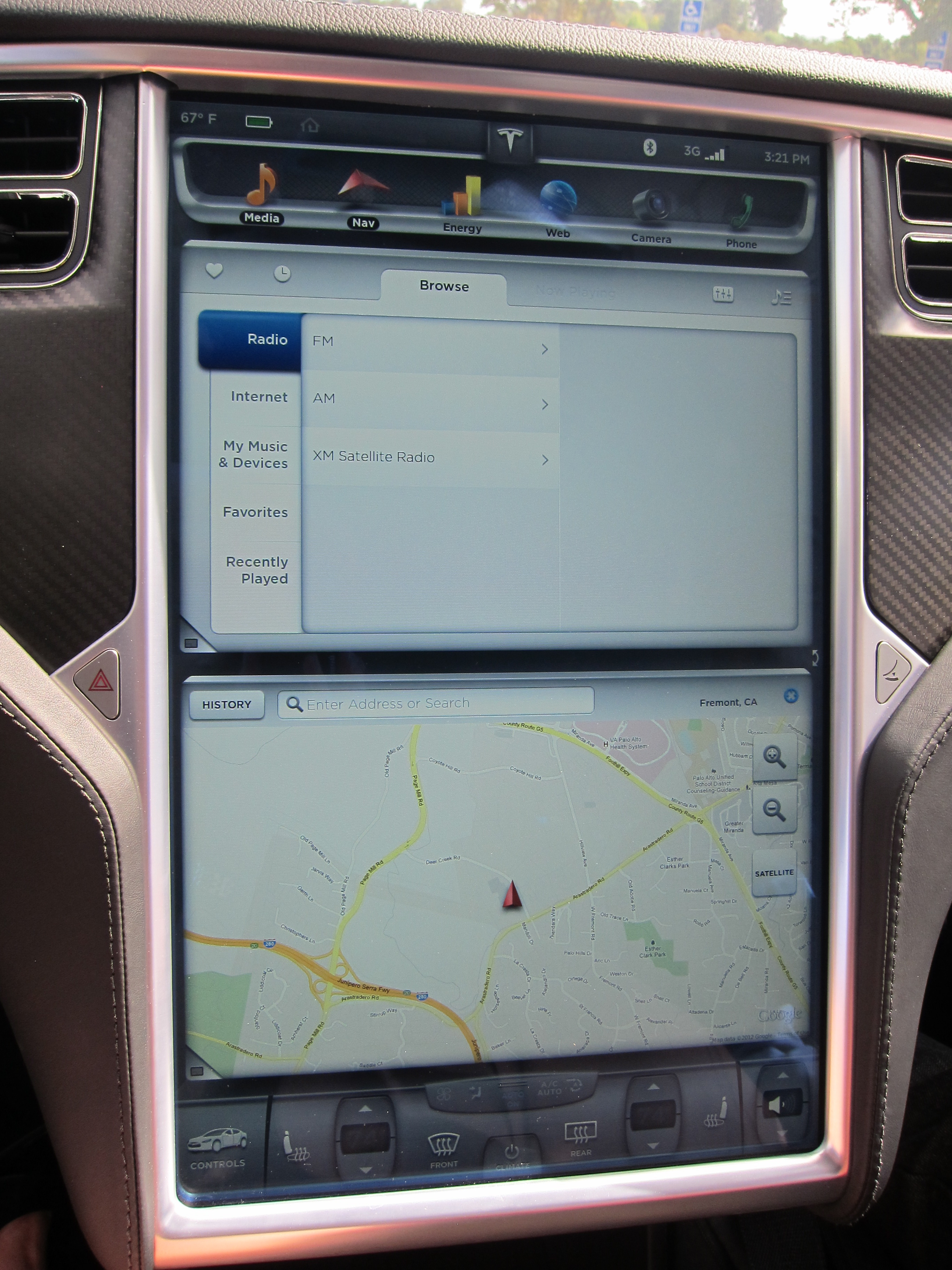 Getting a Handle on the Tesla Model S - Video and Review ...