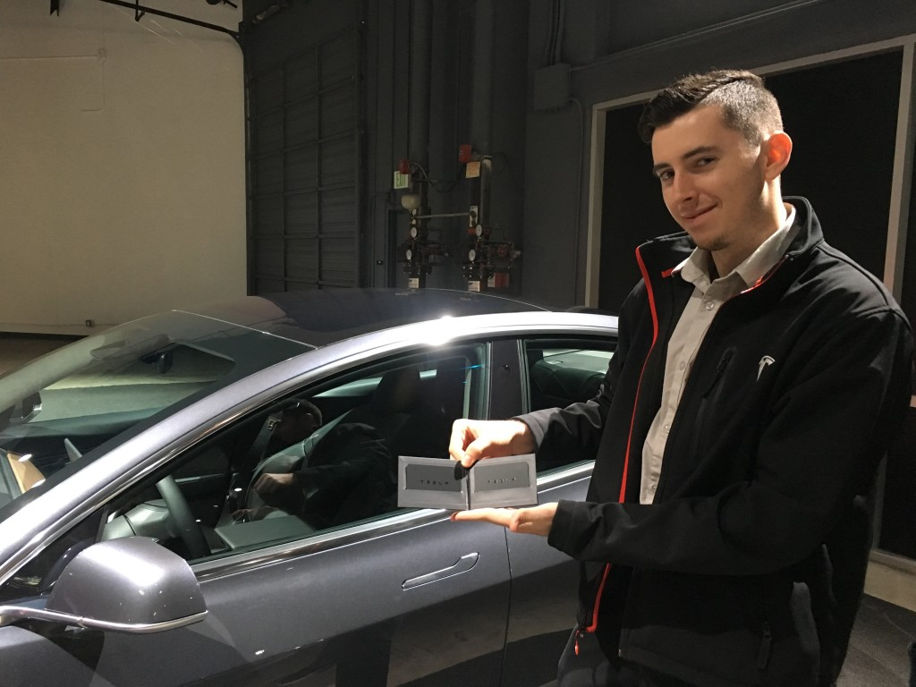 Tesla Model 3 Deliveries Begin in Silicon Valley - first ...